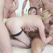 7on1 Double Anal GangBang with Lindsay Sharon GIO332 HD Video 110718 mp4