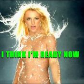 Britney Spears Toxic Nude Glittering Catsuit Karaoke Version Video
