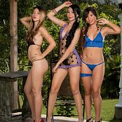 Poli Molina Tammy Molina and Ximena Gomez Triple Treat Group 10 TM4B Set 010 010
