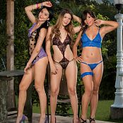 Poli Molina, Tammy Molina and Ximena Gomez Triple Treat Group 10 TM4B Picture Set 010