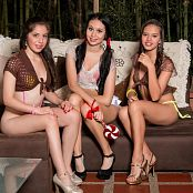 Angie Narango Alexa Lopera and Ximena Gomez Fun With Stickers Group 8 TM4B Set 008 001