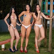 Clarina Ospina Melissa Lola Sanchez and Natalia Marin Star Pasties Group 5 TM4B Set 005 021