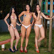 Clarina Ospina Melissa Lola Sanchez and Natalia Marin Star Pasties Group 5 TM4B Set 005 021