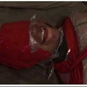 LatexBarbie Saran Wrap Breathplay Video
