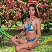 Jasmin Blue Bikini Lingerie JTM Set 002 038