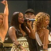 Sugababes Push The Button Live Nelson Mandela Concert 2008 Video