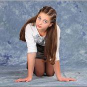 TeenModelingTV Talia Black Zipper Skirt 0677