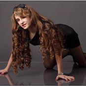 TeenModelingTV Yuliya Black Dress 1238