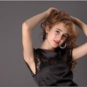 TeenModelingTV Yuliya Black Dress 1323