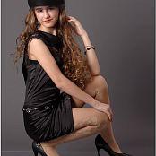 TeenModelingTV Yuliya Black Dress 1332