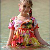 TeenModelingTV Yuliya Waterdress 2228