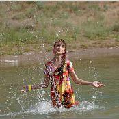 TeenModelingTV Yuliya Waterdress 2330