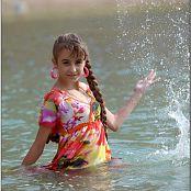 TeenModelingTV Yuliya Waterdress 2335