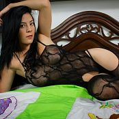 Andrea Restrepo Sheer Black Lingerie TM4B Picture Set 004