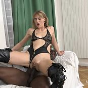 Jentina Small MILF Blonde Gets Double Black Cocks Anal IV046 HD Video
