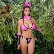 Jasmin Fuzzy Bunny Bikini Costume JTM Set 013 068
