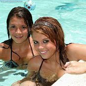 Sherri Chanel & Brittany Marie Teenies In The Pool TBB Picture Set 013