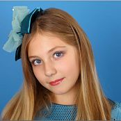 TeenModelingTV Alissa Metallic Blue Picture Set
