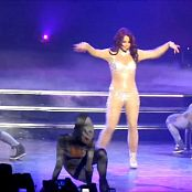 Britney Spears Work Bitch Glittering Catsuit HD Video
