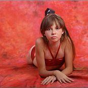 TeenModelingTV Bella Red vinyl 2486