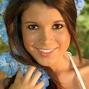 TeenModelingTV Brittany Marie White Bikini Picture Set