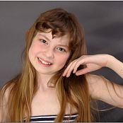 TeenModelingTV Bella Stripes Picture Set 001 & 002