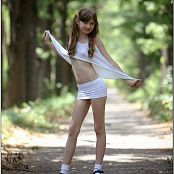 TeenModelingTV Bella White mini 3338