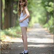 TeenModelingTV Bella White mini 3344