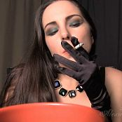 Goddess Alexandra Snow Smoking Seduction HD Video