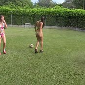 Mary Mendez, Poli Molina & Angie Narango Lingerie Football Group 7 TCG HD Video 007