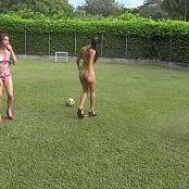 Mary Mendez, Poli Molina & Angie Narango Lingerie Football Group 7 TCG HD Video 007