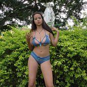 Jasmin Blue Bikini Lingerie JTM 4K UHD & HD Video 020