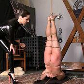 Goddess Alexandra Snow Inverted Whipping HD Video