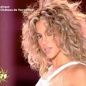 Shakira La Tortura Live Paris Chateadue Versailles Megashow 2005 Video