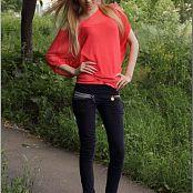 TeenModelingTV Ella Pink Shirt 0408