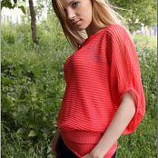 TeenModelingTV Ella Pink Shirt 0419