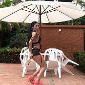 Melissa Lola Sanchez Sheer Black Lingerie TCG HD Video 003