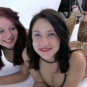 FloridaTeenModels Heather & Rachel September 2014 Disc 1 Catsuits DVDR Video