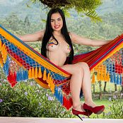 Michelle Romanis Red Thong & Star Stickers TCG Set 002
