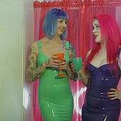 Latex Barbie & Abbey Mars Party Girls Use You HD Video
