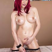 Katie Banks Oiled Up Redhead Picture Set