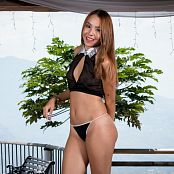 Mellany Mazo Sheer Black Top TBS Picture Set 027