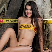 Sofia Sweety Little Yellow Thong NSS Picture Set 018
