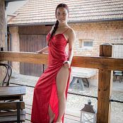 TeenMarvel Naomi Red Dress 0890