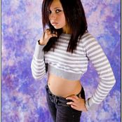 TeenModelingTV Mariah Crop Sweater Picture Set