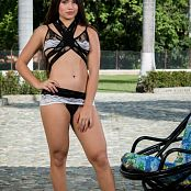 Sofia Sweety Black and White Lingerie NSS Set 022 092