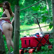 Ariel Rebel Changing In The Forest 007