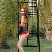 Mellany Mazo Devil Costume TBS 4K UHD & HD Video 031