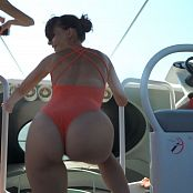 Jeny Smith Speed Boat HD Video
