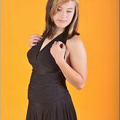 TeenModelingTV Christin Black Formal Picture Set